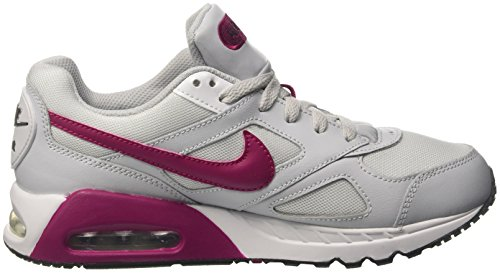 Nike Air Max Ivo Gs, Zapatillas para Niños Blanco (Pure Platinum/sport Fuchsia/white/black)