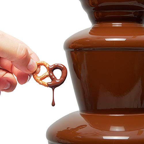Huanyu 4 Tiers Chocolate Fountain Commercial Chocolate Fondue Fountain for Wedding Party Hotel by Huanyu (Image #2)