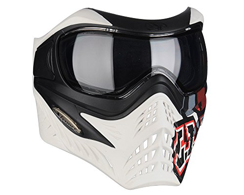 V-Force Grill Paintball Mask SE GI Logo White