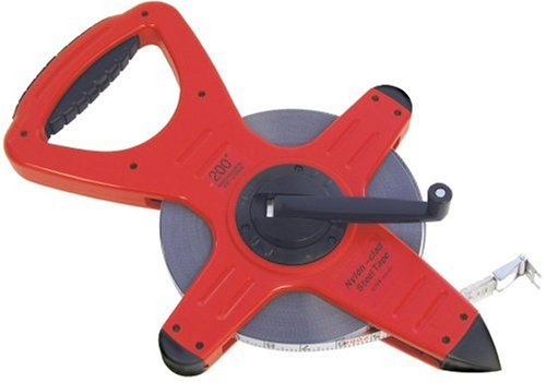 CST/berger 82-20080B 200ft Nylon-Clad Steel Zip-Line, 82-Series Open Reel Tape in FEET/8THS