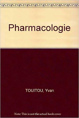 Livre gratuits en ligne Pharmacologie pdf, epub