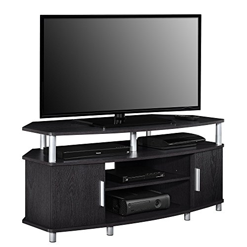 Ameriwood Home Carson Corner TV Stand for TVs up to 50', Black