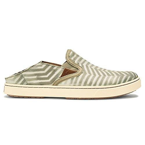 Chaussures Olukai Pehuea Pai - Femmes Limon / Blanc Cassé