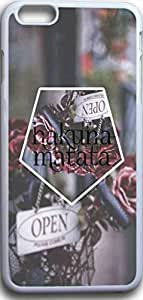 Iphone 6 plus Case quotes Dseason ,Fashion printing series,High quality hard plastic material hakuna matata