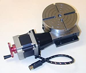 Amazon Com 4 Quot Rotary Table With Stepper Motor Mount And