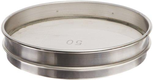 advantech-50ss8h-stainless-steel-half-sieve-8-diameter-50-mesh-size