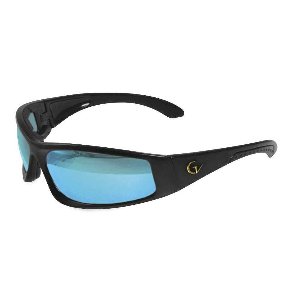 cc15a4f05b8 Amazon.com  Maxx Sunglasses Foam Gold Vision 6 Black Frame HD Lens  Sports    Outdoors