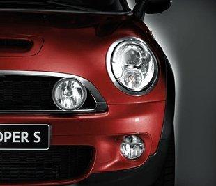 Original Mini R55 R56 R57 R58 R59additional Headlights Chrome