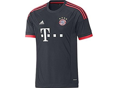 Adidas FC Bayern Munich Jersey-NTNAVY (M)