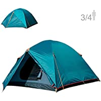 NTK Colorado GT 3 to 4 Person Outdoor Dome Family Camping...