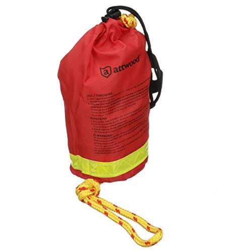 Attwood 11808-2 Rescue Line Throw Bag,
