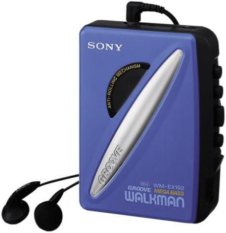 Sony WM-EX192//L nein Tragbarer Kassettenspieler blau