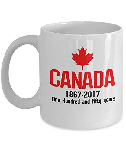 Happy CANADA 150 Years Canadian Flag Cool Mug