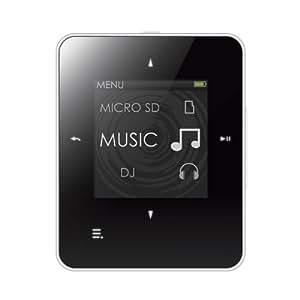 Creative Zen Style M100 - Reproductor de MP3 con 8 GB (pantalla TFT de 3,7 cm (1,45 pulgadas), USB), color blanco y negro