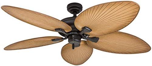 Honeywell Palm Island 50505-01 52-Inch Tropical Ceiling Fan