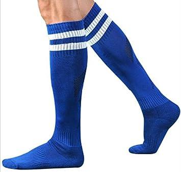 Bazaar Adultos por encima de la rodilla medias de fútbol sudor calcetines toalla Kneehigh la raya del deporte: Amazon.es: Deportes y aire libre