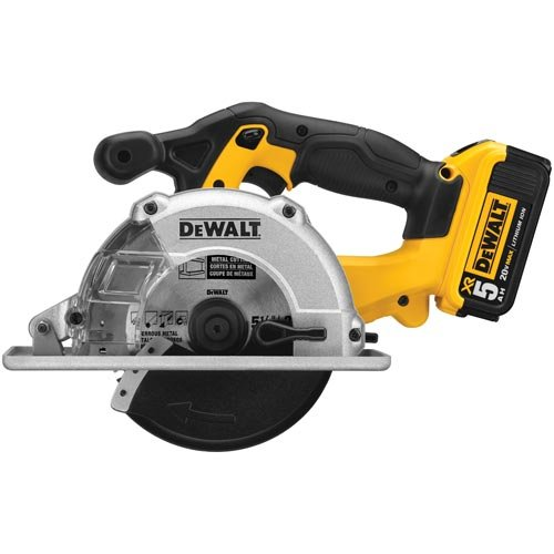 DEWALT DCS373P2 20V MAX Lithium Ion Metal Cutting Circular Saw Kit
