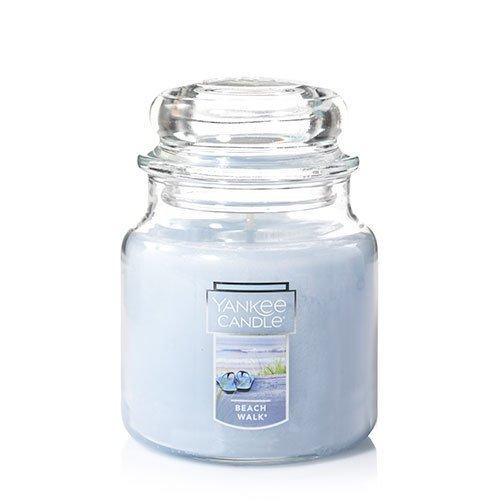 Yankee Candle Beach Walk Medium Jar Candle, Fresh Scent from Yankee Candle