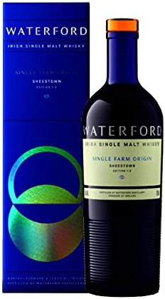 Whisky - Waterford Single Malt Whisky Sheestown 1.2 de 70 cl - Elaborado en Irlanda - Qantima Group (Pack de 1 botella)