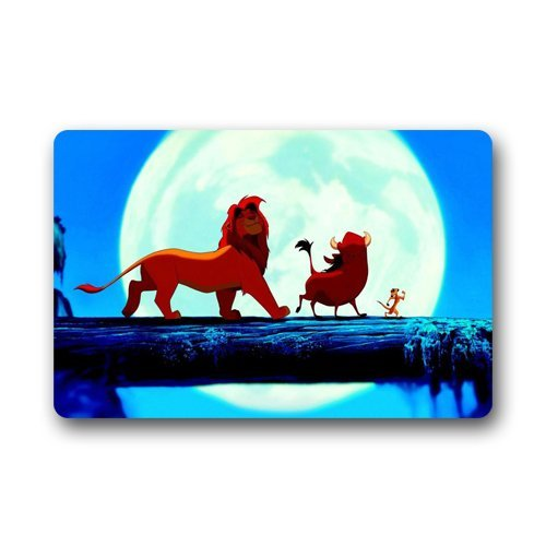 Roman's Doormat Personalize Decor Carpets ? Door Mats The Lion King Hakuna Matata Machine Washable s Indoor Outdoor House Doormats Area Rugs Entryway Mats 23.6in by 15.7 in