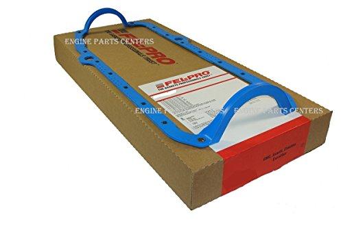 Fel Pro 1 Piece Oil Pan Gasket 1991-2000 GEN 5 Chevy bb 454 427 366 (1 Piece Rubber) (Oil Pan Gasket 1 Piece)