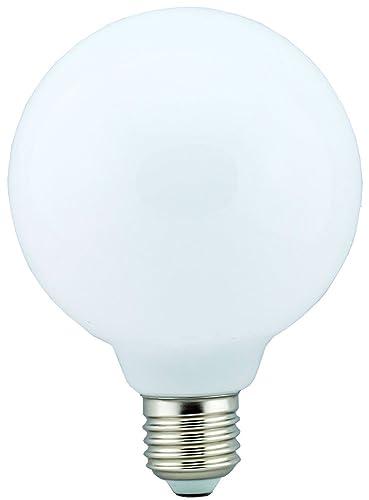 Sampa Helios 432020 bombilla led-360 ° Globe E27 10 W cristal blanco