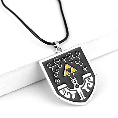 NTNH12 Sword Enamel Pendant Necklace Game of Hylian Charm Necklaces