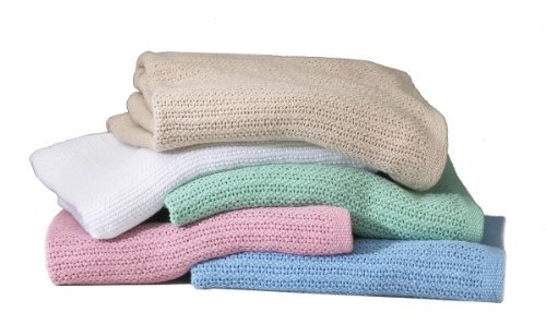 - Open Weave Thermal Blankets- (White)