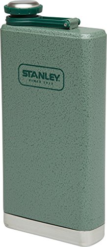 Stanley Adventure Stainless Steel Flask 12oz Hammertone Green