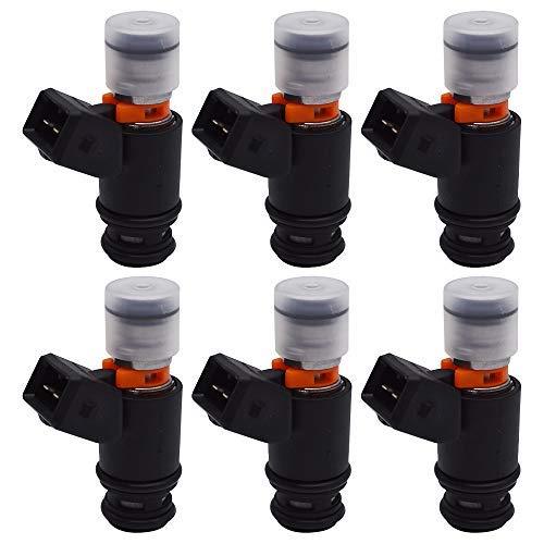 labwork 6X Fuel Injectors IWP022 for VW Volkswagen Euro Van Jetta 021906031D 805000348303