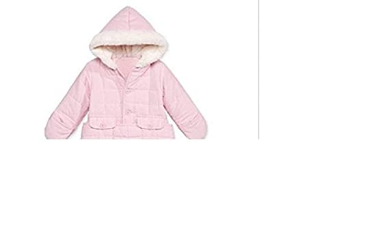 07ca9bed732d Amazon.com  First Impressions by Macy s Baby Girls  Jacket Snowbag with Faux  Fur Trim (6-9 Months)  Clothing