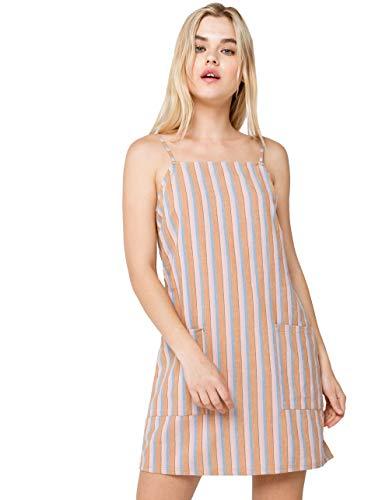 Billabong Women's Straight Round Woven Mini Dress