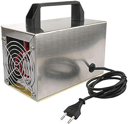 QWERTOUY Generador de ozono 24 g de ozono máquina purificador de ...