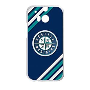 & Phone Cover MLB Seattle Mariners Printing for HTC One M8 Case