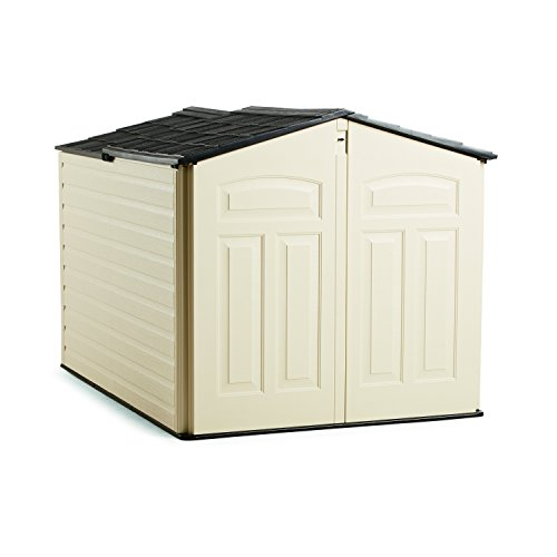 Rubbermaid Outdoor Slide-Lid Storage Shed, 96 cu. ft.,