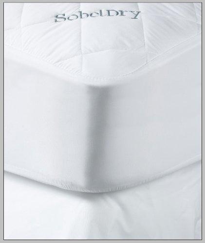 Premium Hotel & Resort Mattress Protector - Sobeldry Mattress Pad that is Both Quiet & Waterproof - Full Sized Mattress Protector Pad