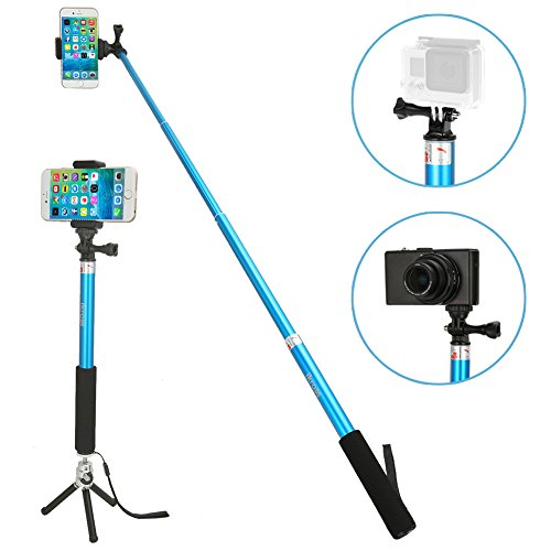 ikross monopod selfie stick 3 in 1 monopod selfie. Black Bedroom Furniture Sets. Home Design Ideas