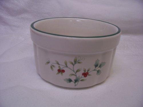 Casserole Holly (Pfaltzgraff Winterberry Dip Bowl)