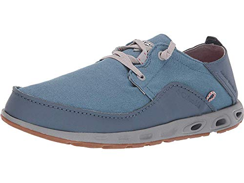 Columbia PFG Men's Bahama Vent Relaxed PFG Boat Shoe, Mountain, Intense Red, 7.5
