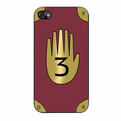 Gravity Falls - Journal 3 iPhone 4 Case / iPhone 4s Case (Black Plastic)