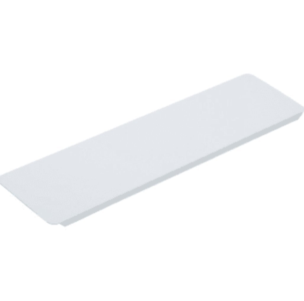 3-5/8W x 13-3/8'' Replacement Medicine Cabinet White Metal Shelf Package of 12