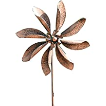 "Gardman 8434 Zinnia Flower Wind Spinner Border Stake, 63"" High x 20"" Wide"