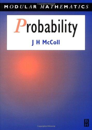 Probability - Modular Mathematics -