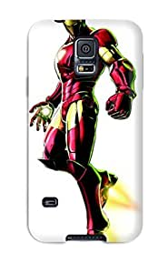 S5 Scratch-proof Protection Case Cover For Galaxy/ Hot Iron Man Phone Case