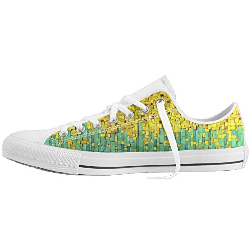 Sunflower Unisex Low Help Canvas Shoes Non-slip Drawstring Comfortable Sneakers (Chicago Halloween Ball 2017)