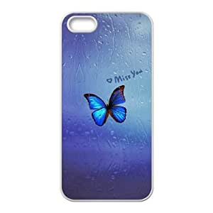 Beautiful butterfly Unique Design Case for Iphone 5,5S, New Fashion Beautiful butterfly Case
