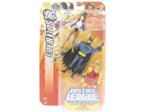 Justice League DC Super Heroes: Batman, Shining Knight & Zatanna by Mattel (Zatanna Superhero)