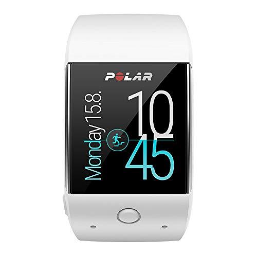Polar M600 Smartwatch con GPS y frecuencia Cardiaca en la muñeca, Color Blanco