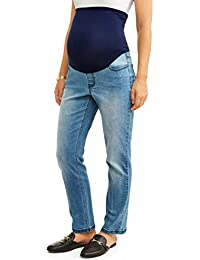 88d1ea7d5bd Maternity Over The Belly Bootcut Jean