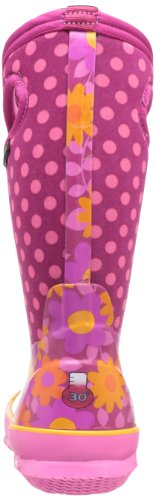 Bogs Classic Digital Camo - K Unisex-Kinder Flower Dot Print/Cherry/Multi